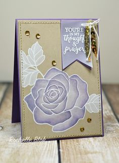 The Stamping Blok: Can You Case It? #107 - Colour Challenge - Rose Wonder - Rochelle Blok