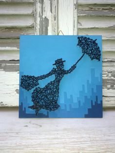 Hey, I found this really awesome Etsy listing at https://www.etsy.com/listing/239641689/handmade-string-art-sign-mary-poppins