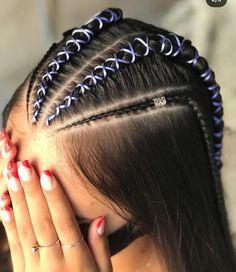 Mens Braids Hairstyles, Down Hairstyles, Pretty Hairstyles, Prom Hair Down, Wedding Hair Half, Medium Hair Styles, Long Hair Styles, Braids For Long Hair, Bridesmaid Hair