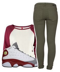"""i don't like this set but I love using these 13s"" by mindset-on-mindless ❤ liked on Polyvore featuring beauty, H&M, Retrò and Dr. Denim"