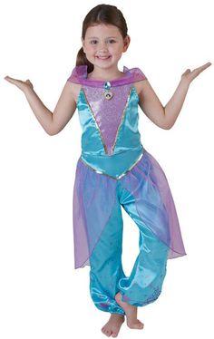 Jasmin™-Kostüm für Mädchen : Kostüme für Kinder, und günstige Faschingskostüme - Vegaoo