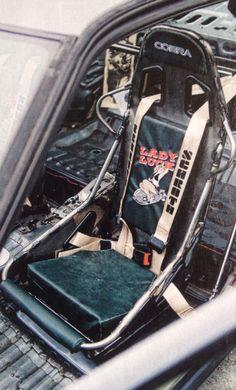 Stripped Cobra bucket seat army bomber theme