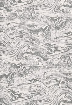 Martyn Lawrence Bullard Romeo Modern Wallpaper, Print Wallpaper, Sky Anime, Diy Wall Painting, Purple Marble, Marble Print, Floral Photography, Schumacher, Wall Patterns