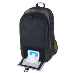 Wipes window of DadGear Backpack