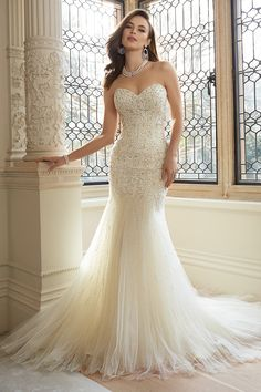 Gown by Sophia Tolli for Mon Cheri