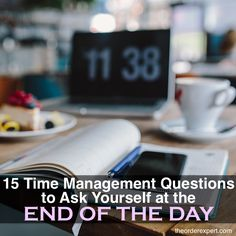 15 Time Management Questions to Ask Yourself at the End of the Day Time Management Plan, Effective Time Management, Time Management Strategies, Management Tips, Make Money From Home, How To Make Money, Questions To Ask, This Or That Questions, Online Jobs
