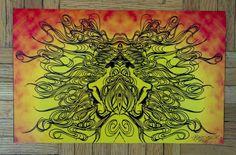 Twin medusas...Baneseik©…print for sale