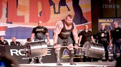 Video: Strongman Eddie Hall breaks the Deadlift world record at the 2016 Arnold Strongman Classic.