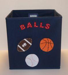 Elegant Kids Storage Bin Storage Basket Playroom Storage By KissyMonster, $30.00