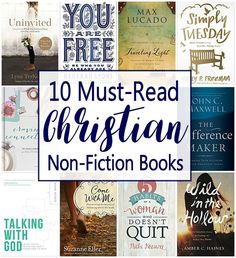 List includes 5 top Christian historical fiction authors, 10 must-read Christian Nonfiction titles, and a FREE printable Summer Reading List for Christian Women | Reading Challenge | Adult Reading List | Book Ideas for Women | Book Reviews | Books for Mom