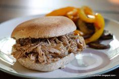 Finding Joy in My Kitchen: Crockpot Pulled Teriyaki Pork Sandwiches