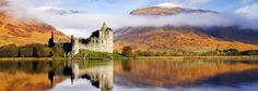 Kilchurn Castle - 4 Day Tour - Isle of Mull, Iona and the Highlands