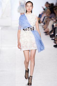 Giambattista Valli Fall 2013 Couture Fashion Show - Fei Fei Sun (Elite)