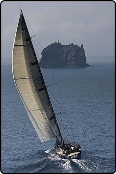 Sailing on the open sea…