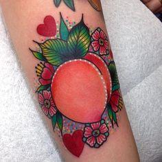 Peach tattoo
