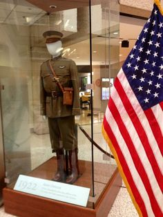 What a throwback! 1922 U.S. Army Soldier uniform