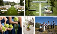 Wyoming Weddings in the Teton Mountains :: Grand Targhee Resort