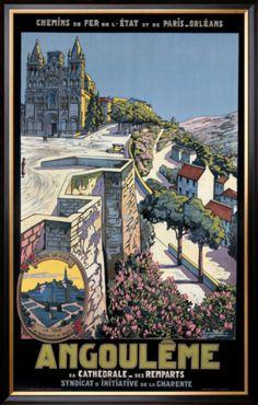 Angouleme Framed Giclee Print