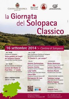 Le Officine Gourmet Giulia Cannada Bartoli: 16.9 Cantina di Solopaca, giornata del solopaca classico #festadelluva