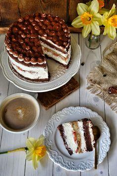 Tiramisu, Food To Make, Delicious Desserts, Tasty, Baking, Ethnic Recipes, Cheesecake, Cook, Cakes