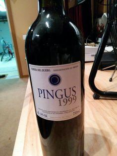 Pingus 99 tx to mr greenberg oh my Wines, Bottle, Flask, Jars
