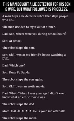 15 Really Funny Short Stories – Jokes Funny Pins, Funny Cute, Really Funny, Funny Stuff, Freaking Hilarious, Lie Detector, Twisted Humor, Laughing So Hard, Hilarious Stuff