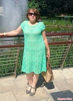 Платье Летняя зелень