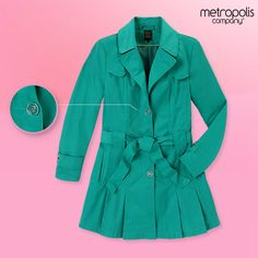 Una gabardina puede resaltar tu #look y lucirás siempre con estilo.