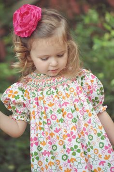 Free Smocked Dress Pattern Or Tutorial Online Please Share Crafty
