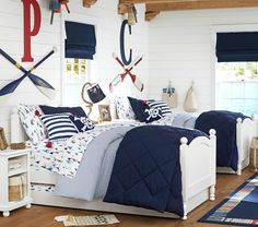 Catalina Bed Pottery Barn Kids Plus Trundle Option Toddler Rooms Boys