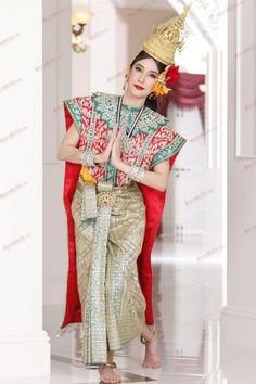 Thai culture dress.