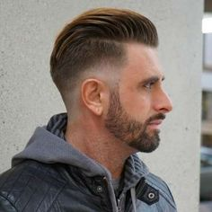 Image result for skin fade with beard