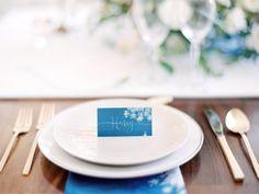 diy | sun print wedding escort cards | via: once wed