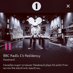 Super-producer #deadmau5 's Hyper-Livemix���� via #bbcradio1 's #residency  http://www.bbc.co.uk/programmes/b08wmjl4  #bbc #radio #1 #music #channel #live #dj #mix #mau5trap #rezz #attlas and #more #korean #student #00 #00년생 #고2 #라디오 #음악 #라이브 #일렉 #휴식 #시험기간 http://butimag.com/ipost/1554494069920926990/?code=BWSrB7bFo0O