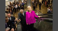 Hillary Clinton rides the Senate subway escalator July 14, 2015. M. Scott Mahaskey/POLITICO   Read more: http://www.politico.com/magazine/gallery/2015/12/2015-best-photos-politico-year-in-review-000599#ixzz40YSfgsW4
