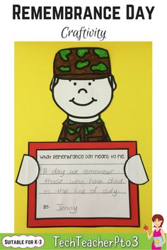 Remembrance Day Activities - Real Time - Diet, Exercise, Fitness, Finance You for Healthy articles ideas 5th Grade Social Studies, Social Studies Activities, Free Activities, Literacy Activities, Teaching Resources, Teaching History, Teaching Ideas, Primary School Curriculum, Homeschool