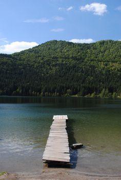 Saint Ana Lake, Romania. The only volcanic lake in Europe.