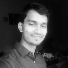 #selfie without any #good #caption  #black&white #picture