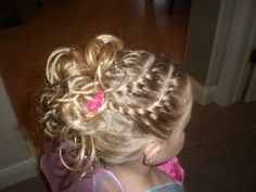 Very cute and sassy hairdos for little girls!