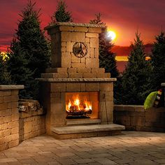 1000 Images About Outdoor Fireplaces On Pinterest Outdoor Fireplaces Diy