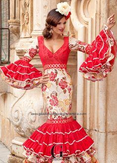 ELIPSE - Guadalupe Moda Flamenca Spanish Fashion, Spanish Style, Flamenco Dancers, Flamenco Dresses, Costumes Around The World, Spanish Culture, Fishtail, Indian, Formal Dresses
