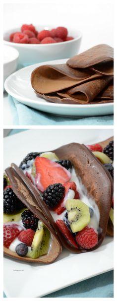 Chocolate Crepes Recipe - The Idea Room