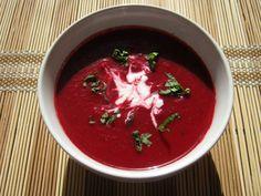 Zupa krem z pieczonych buraków – Odżywiaj się zdrowo Thai Red Curry, Feta, Salsa, Cooking, Health, Ethnic Recipes, Kitchen, Health Care, Salsa Music