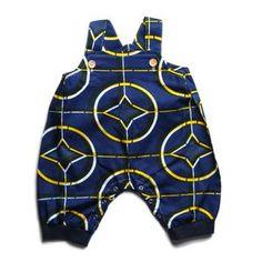 African Print Baby Jumpsuit Unisex