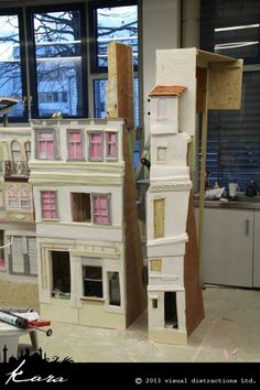 Clay Animation, Animation Stop Motion, Cardboard Sculpture, Cardboard Art, Norman Rockwell, Laika Studios, Frame By Frame Animation, Cartoon Clip, Stage Design