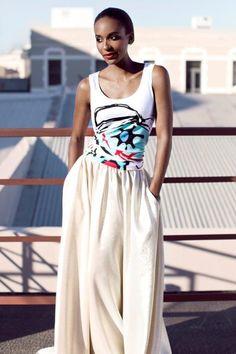 A Jenni Button Paul du Toit collaboration Jenni, Collaboration, Buttons, Skirts, How To Wear, Fashion Design, Art, Style, Kunst