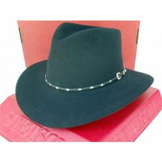 Stetson Cowboy Hat 4X Beaver Fur Felt Diamond Jim Black 6dda2e0ca1de