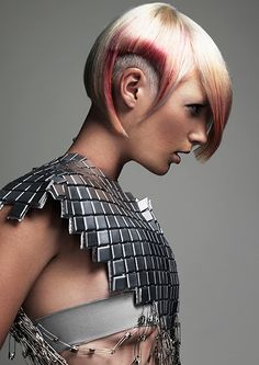 2012 Trend Vision from Joey Scandizzo Salon Work Hairstyles, Creative Hairstyles, Short Bob Hairstyles, Haircuts, Joey Scandizzo, Futuristic Hair, Short Hair Cuts, Short Hair Styles, Prince Charmant