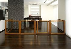 The luxury of three pet products in one: the award-winning Convertible Elite Pet Gate converts quickly and easily from a free standing pet gate – to a room divider – to a pet pen! It's specifically designed to confine your pet safely in areas with larger openings, yet fit beautifully in any home décor! The gate includes a lockable door that allows you to move freely from room to room without having to shuffle the entire unit. Each panel locks in place at 90 and 180 degree angles using a…