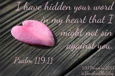 Word in my heart